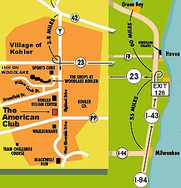 The American Club Directions